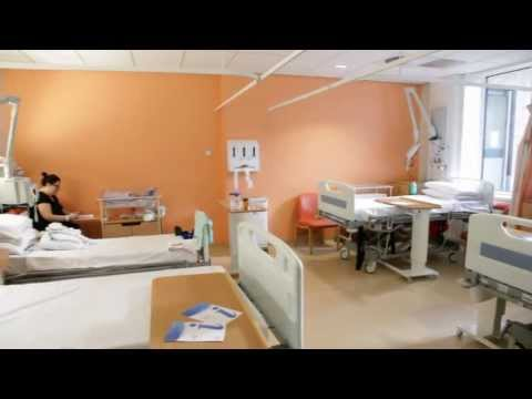 Information & tour inside the Maternity Unit at North Manchester General Hospital