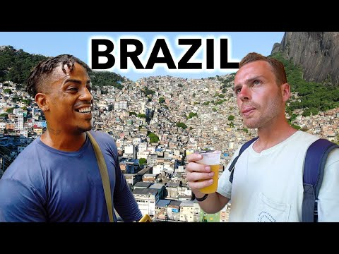 Inside Brazil's Biggest Slum (life here is unbelievable)
