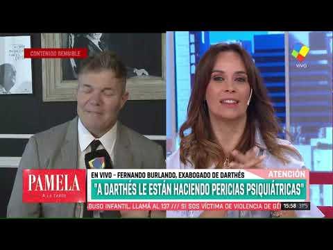 Fernando Burlando: 'Hoy le creo a Juan Darthés'