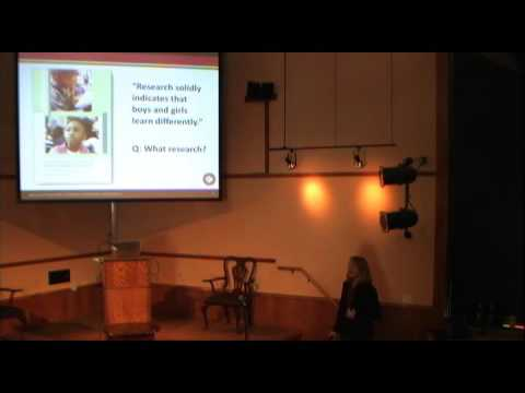 "Lise Eliot  ""Pink Brain, Blue Brain: The Science of Gender Difference""  Nov  15, 2015"
