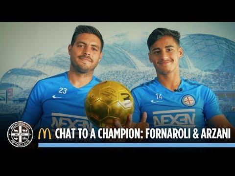 McDonalds Chat to a Champion: Bruno Fornaroli and Daniel Arzani