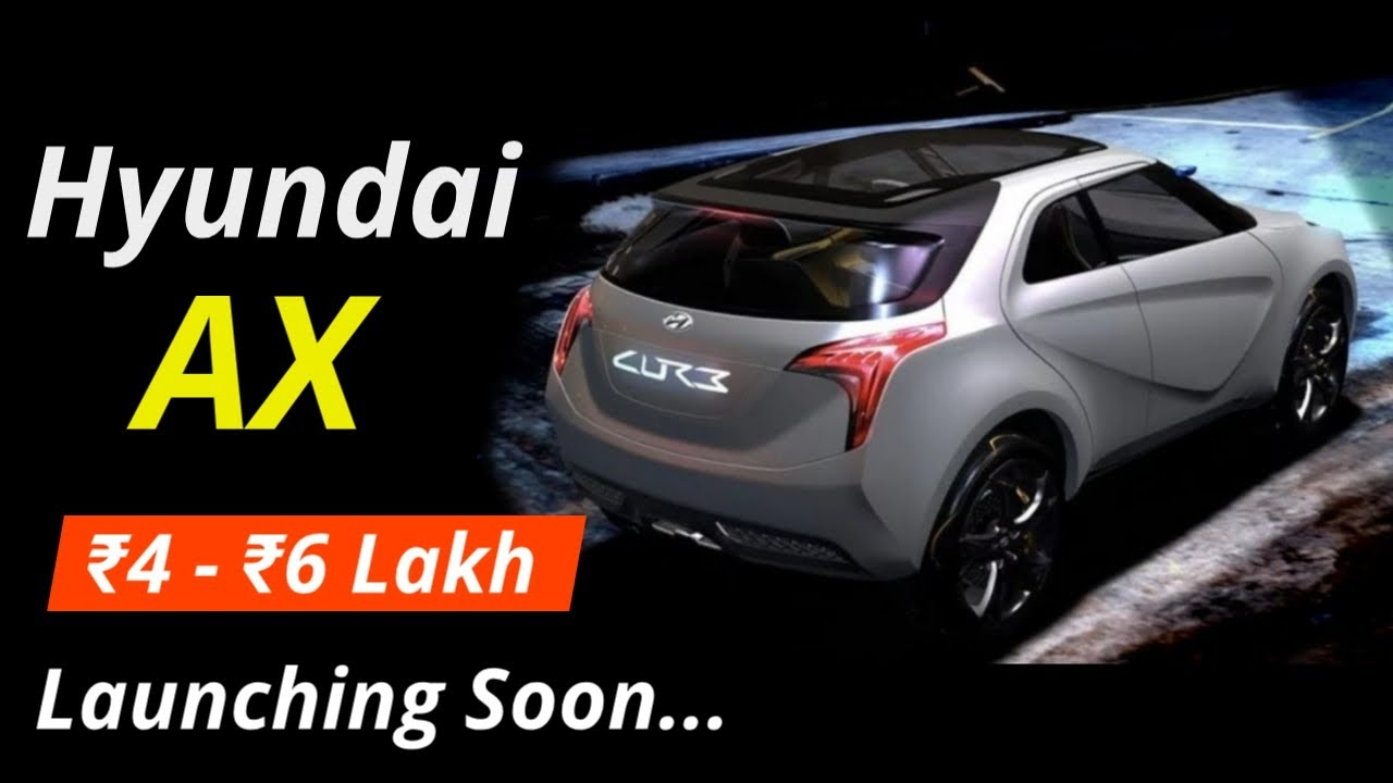 Hyundai Ax A Mini Suv Launching Soon In India Engine Interior Exterior Revealed By Motomantra Youtube