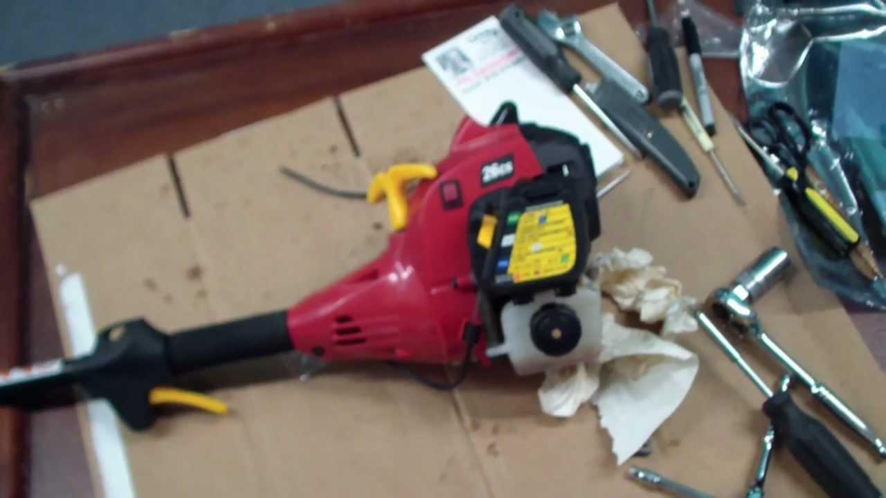 hight resolution of homelite weed trimmer repair tutorial part 1