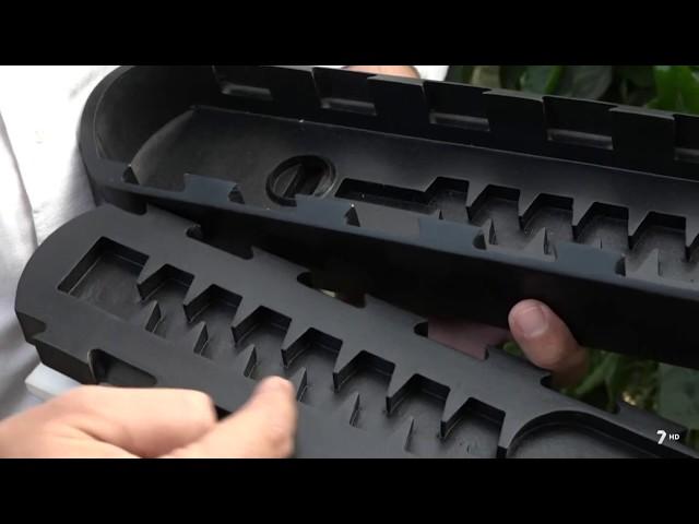 Invernaderos · Gotero integrado UniRAM® y nebulización CoolNET® para cultivo de pimiento