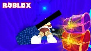 DOWN TO THE DEPTHS! -ROBLOX TREASURE HUNT SIMULATOR