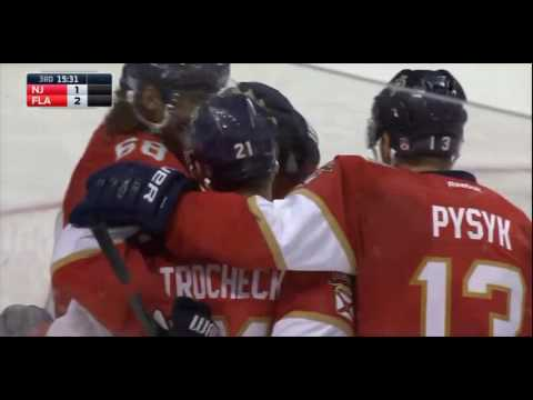 FLORIDA PANTHERS vs NEW JERSEY DEVILS (Nov 3)