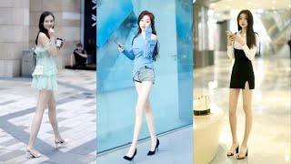 TikTok/China Dou yin The Best Pop Street Fashion Beauty ( Part8 ) 中國最新流行趨勢,潮人街拍時尚視頻,抖音性感靚女合集,街頭穿搭秀場!
