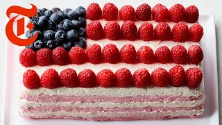American Flag Icebox Cake | NYT Cooking