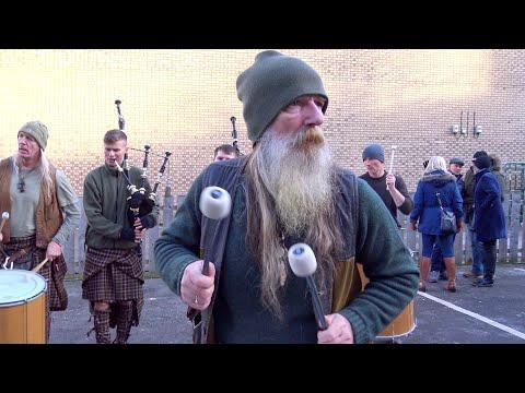 "Scottish legend Tu-Bardh Wilson with Clanadonia performing ""Tu-Bardh"" live in Perth, Scotland, 2019"