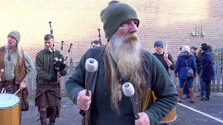 Scottish legend Tu-Bardh Wilson with Clanadonia performing