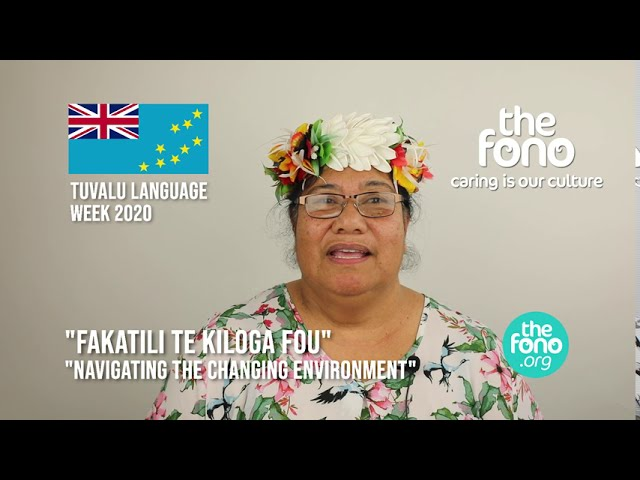 The Fono | Tuvalu Language Week 2020 | Message from Mileta Esela | 'Fakatili Te Kiloga Fou'