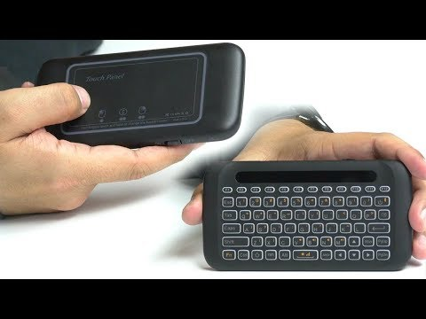The Best Cheap Mini Wireless Keyboard W/ Touchpad!