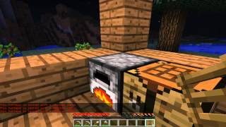 Minecraft русский цикл на сервере часть #1 - строим дом!