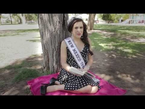 """Love Your Book"" - Addi Smith, Miss Teen NM USA 2013"