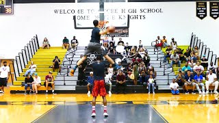 My Third Dunk Contest! Ft. CJ and Steven :: 540 Dunk :: Isaiah Rivera Video