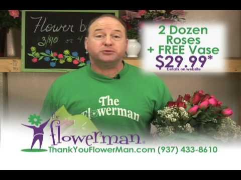 The Flowerman in Dayton Ohio