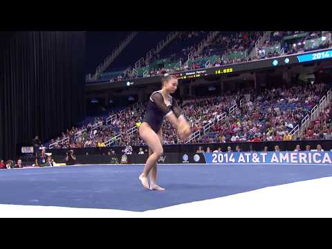 Roxana Popa - Floor Exercise - 2014 AT&T American Cup