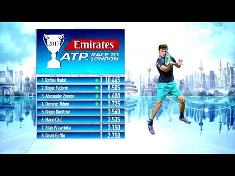 Emirates ATP Race To London Update 23 October 2017