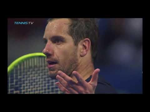 Stefanos Tsitsipas vs. Richard Gasquet 2018 Qatar ExxonMobil Open HD Tennis Highlights