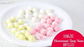 Dongzhi - Homemade Tang Yuan (unfilled)