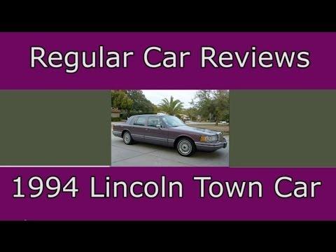 Regular Car Reviews 1994 Lincoln Town Car Youtube