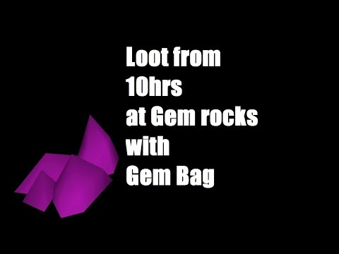 OSRS: TEN HOURS MINING GEM ROCKS I Borrow Iron