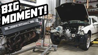 Bmw M3 gets its full transplant!