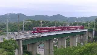京急久里浜線沿線撮影記録2018年6月19日