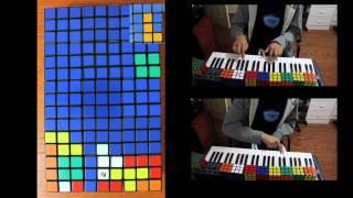 Rubik's Cube Tetris - A Stop Motion Adventure