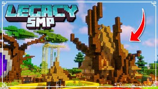Legacy SMP - Lord of the Rings RADAGAST Style House! (Minecraft 1.16 Survival Multiplayer)