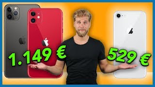 iPhone 11 vs. iPhone 11 Pro vs. iPhone 8 - Was lohnt sich mehr?