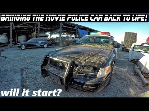 Bringing The Police Movie Car Back To Life! | Crown Rick Auto