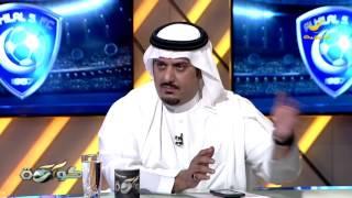 الأمير نواف بن سعد : خالد شراحيلي لا زالت الأبواب مفتوحه بس يشد حيله