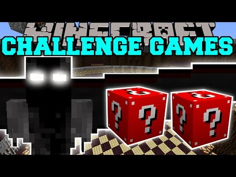 Minecraft: DEMON ANGEL CHALLENGE GAMES - Lucky Block Mod - Modded Mini-Game