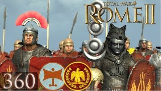 Total War Rome 2 Online Battle Video 360 Thrace in Rome&#39s Face