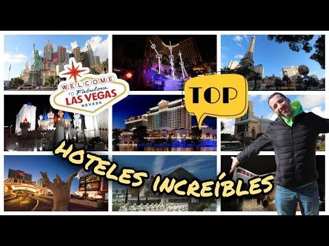 TOP 6 HOTELES más INCREIBLES de Las Vegas
