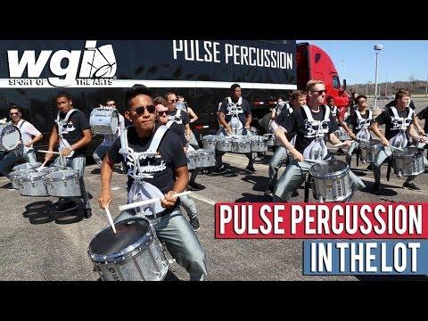 WGI 2018: Pulse Percussion - IN THE LOT