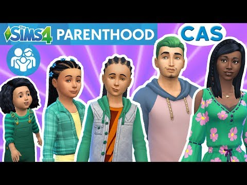 The Sims 4 Parenthood Game Pack - EARLY RELEASE CAS Review - In depth look at Clothes Hair & Fashion