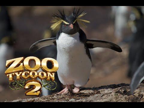Zoo Tycoon 2: Rockhopper Penguin Exhibit Speed Build