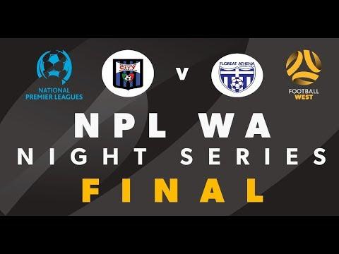Football West NPL WA Night Series Final, Bayswater City vs Floreat Athena