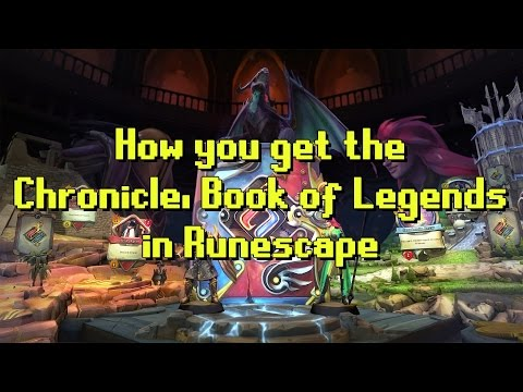How to get Chronicle, Book of Legends in Runescape - 5% XP BOOST!
