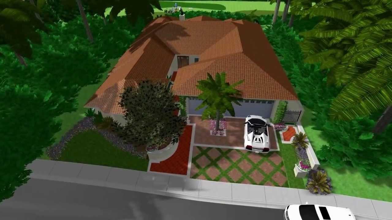 3d landscape pool design virtual presentation studio for Virtual pool design