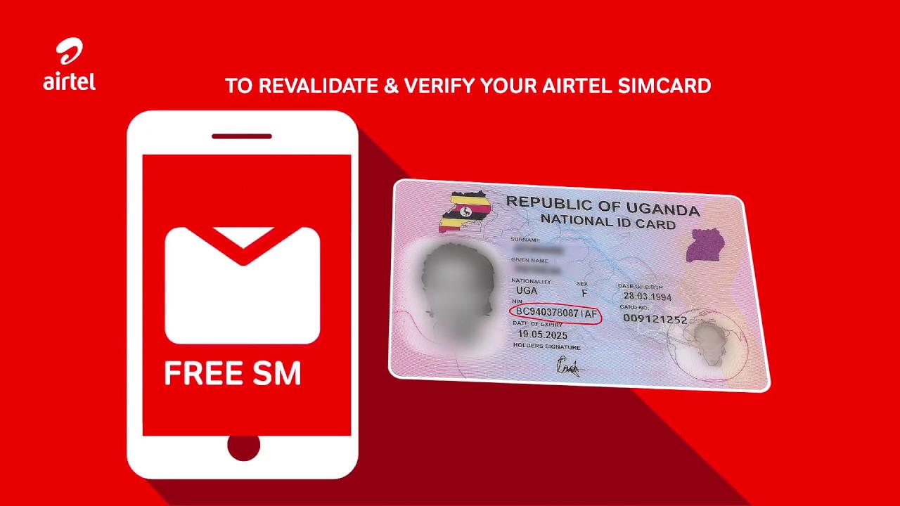 Validate your SIM Card registration Details