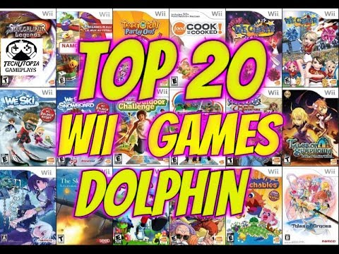 TOP 20 Wii Games For Dolphin Emulator To Play On Android Smartphones/Retro Gameplay FHD Video 2017