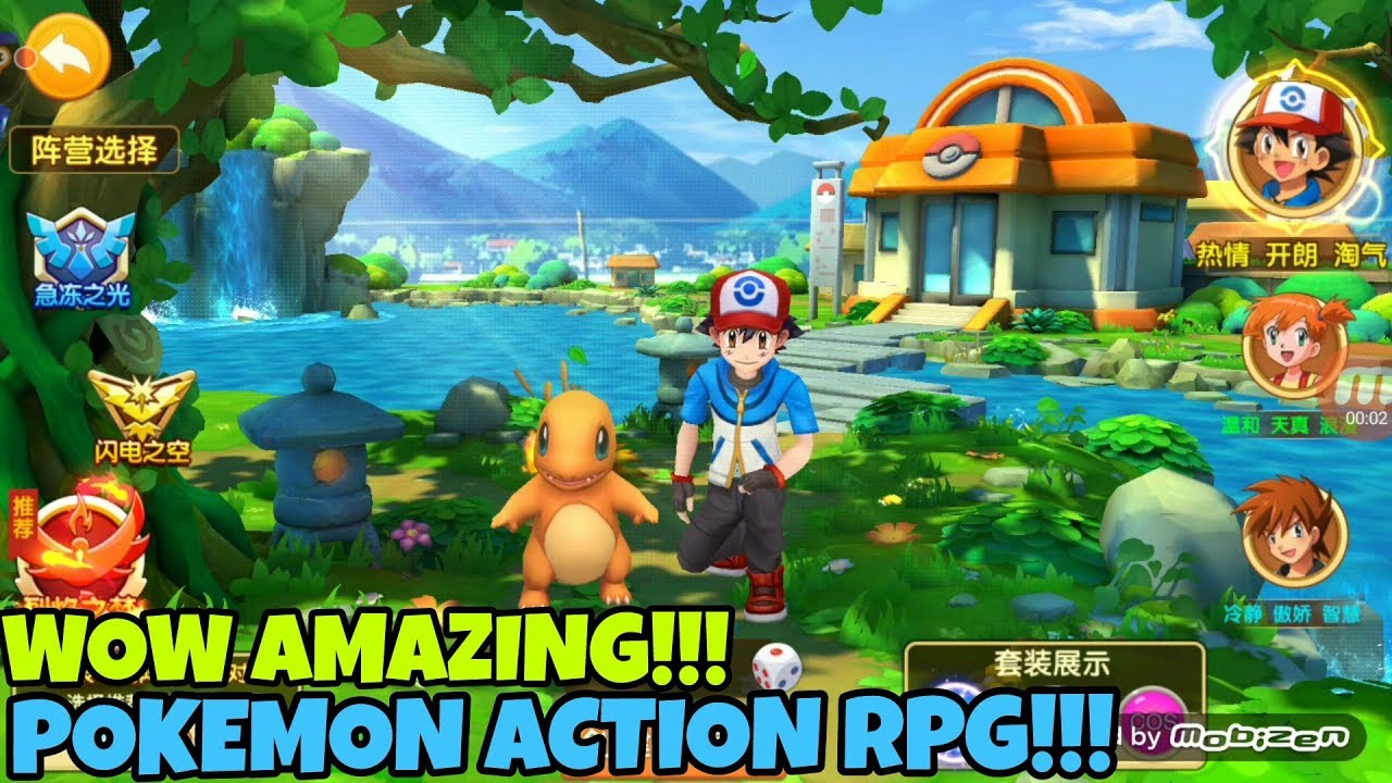 Pokemon Rpg Games For Android | GamesWorld