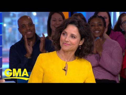 Julia Louis-Dreyfus Talks The Upcoming Final Season Of 'Veep' | GMA
