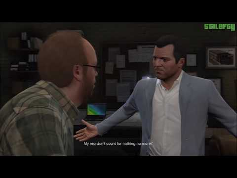 GTA 5 PS3 - Mission #10 - Casing the Jewel Store [100% - Gold Medal]