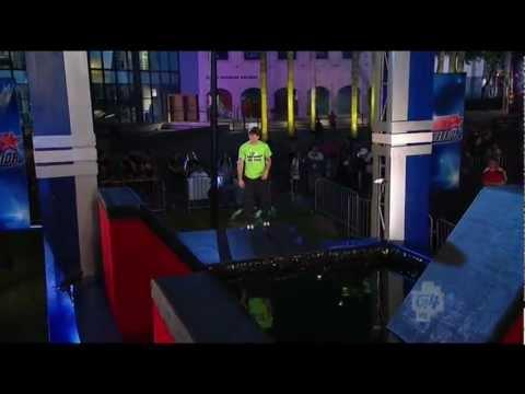 American Ninja Warrior Season 4 - Drew Drechsel - Southeast Qualifying Run