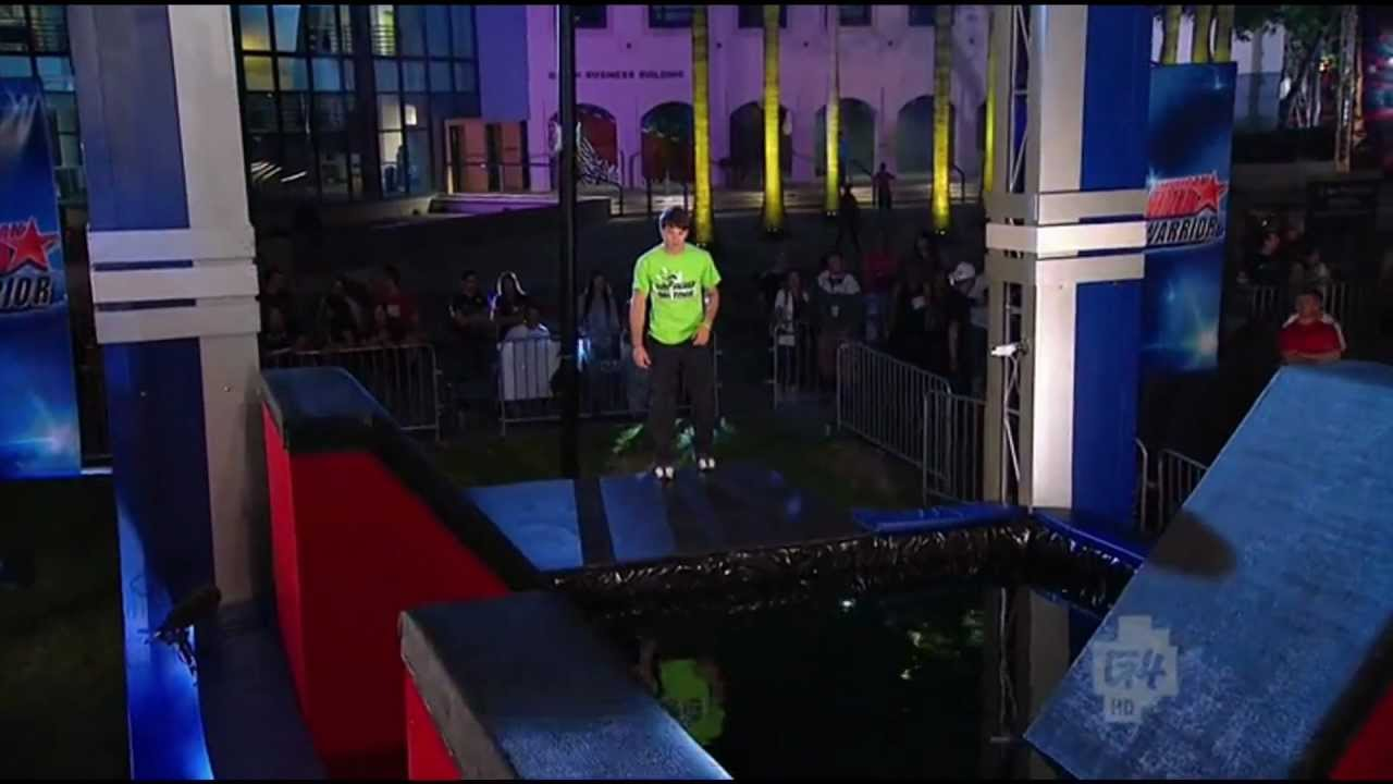 American Ninja Warrior Season 4 - Drew Drechsel - Southeast Qualifying Run