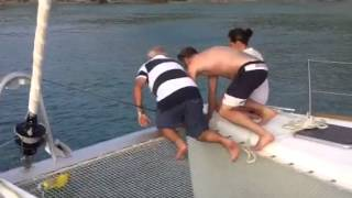 How Not To Pick Up A Mooring Buoy